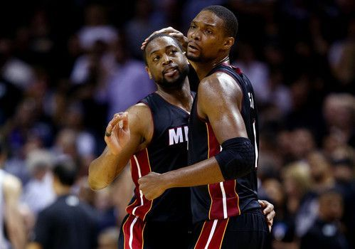 Dwyane Wade, Chris Bosh, Udonis Haslem all opt out of Miami Heat contracts