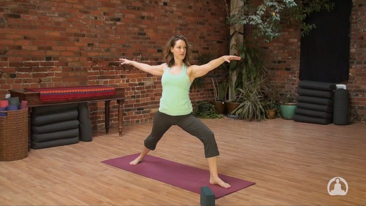47 min. Gentle Hatha Flow Yoga to Energize with Melissa Krieger