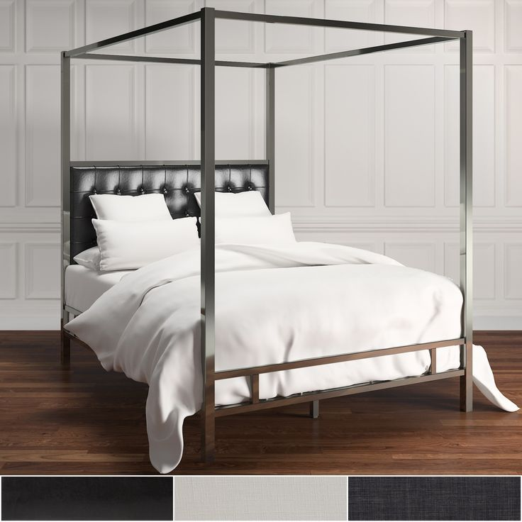 1000 ideas about king size canopy bed on pinterest canopy beds canopy bed frame and beds. Black Bedroom Furniture Sets. Home Design Ideas