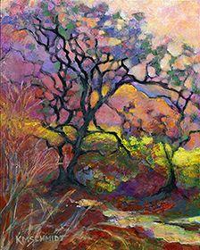 KMSchmidt Landscape Paintings #tree #art