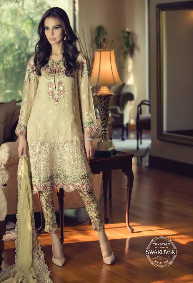 Latest Pakistani Party Dresses 2016 Designer Dresses For