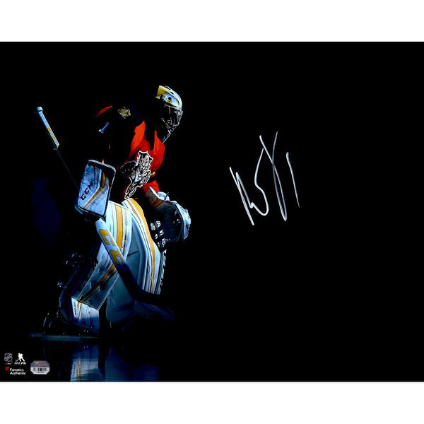 """Roberto Luongo Florida Panthers Fanatics Authentic Autographed 16"""" x 20"""" Skating In Spotlight Photograph - $79.99"""