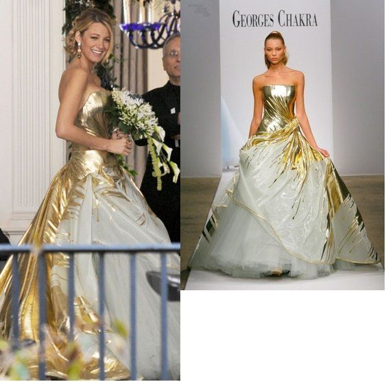 16 best Serena Van Der Woodsen Wedding Gown images on Pinterest ...
