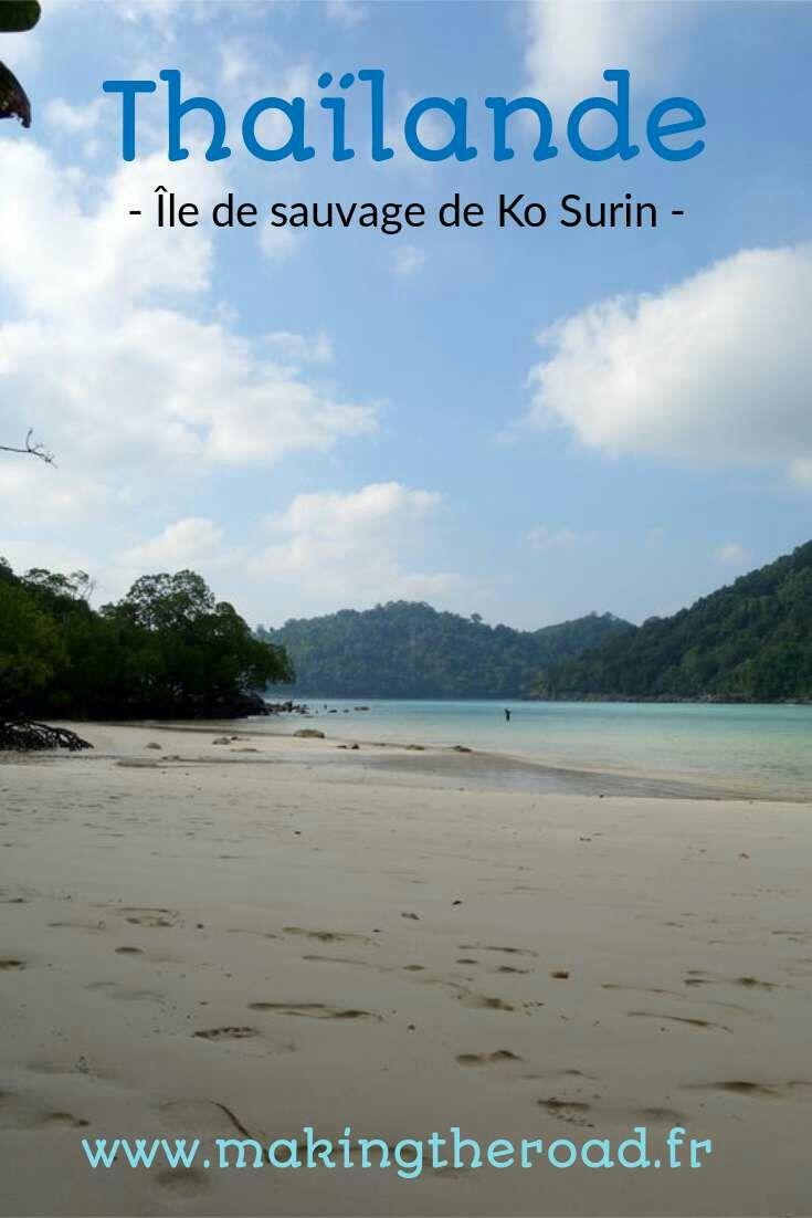 Voyage Thaïlande - Camper sur une île sauvage, Ko Surin parc naturel protégé - Forêt, plage et snorkelling - Infos, itinéraires et photos pour 2 semaines de vacances au printemps.