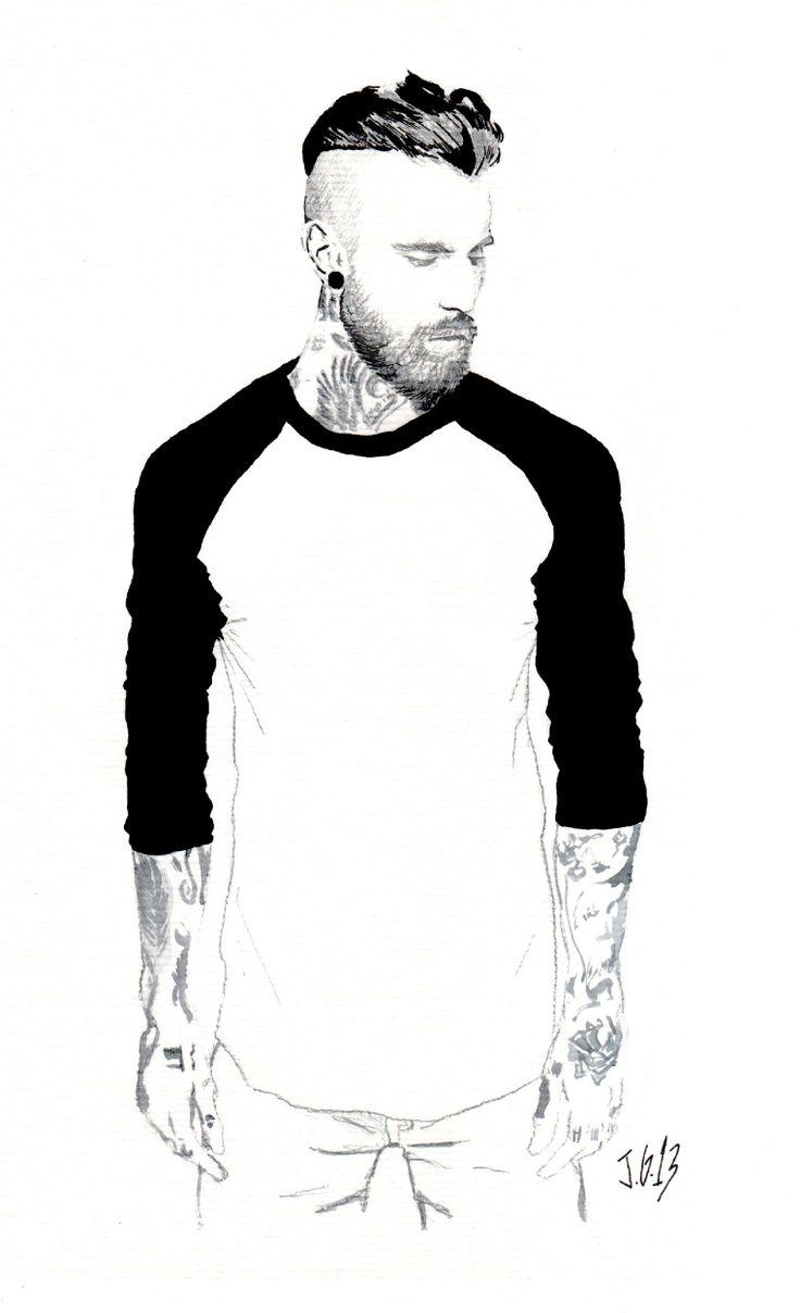 Tattoo beard 1