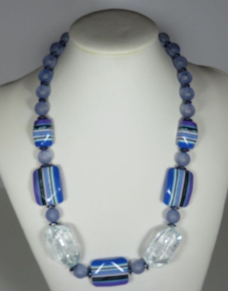 NECKLACE HANDMADE HAVE FUN MORE LOLLY  BEADS
