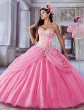 Vestido de baile Custom Made Organza com vestido Quinceanera vestido de debutante com jaqueta de 15(China (Mainland))