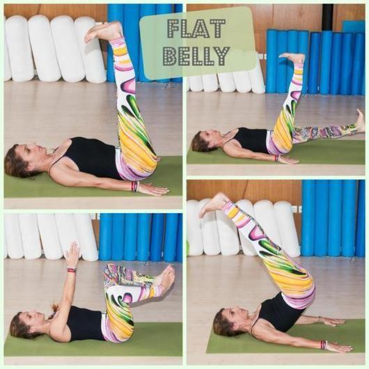 Ασκήσεις για κοιλιακούς! Απόκτησε επίπεδη κοιλιά τόσο απλά... - Tlife.gr  flat belly!!!