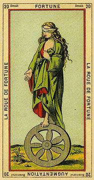 Thoth Etteilla - Roda da Fortuna