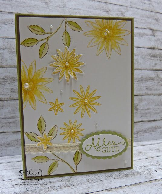Barbara's creative studio - Stampin! Demonstrator in Vienna: Birthday Cards