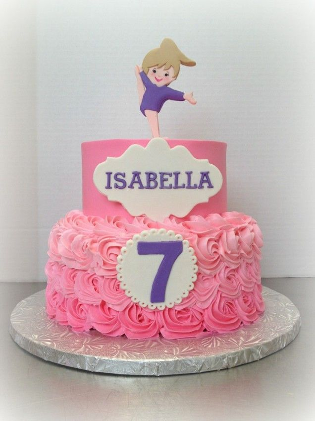 Best 25 Gymnastics Birthday Cakes Ideas On Pinterest