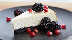 Blackberry Pie Cheesecake