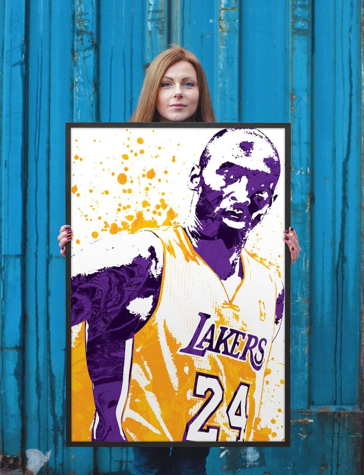 Kobe Bryant Los Angeles Lakers Poster