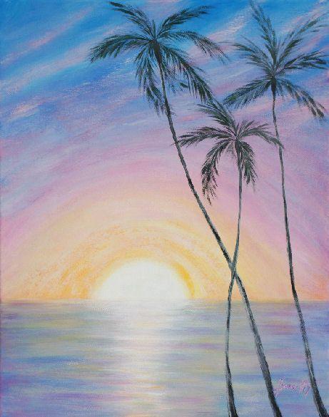 Wonderful Sunrise in Paradise by ArtbySanaKiy on Etsy, $6000.00