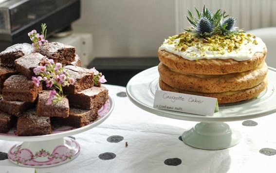 My Pop-up Tearoom for Macmillan Cancer Care.
