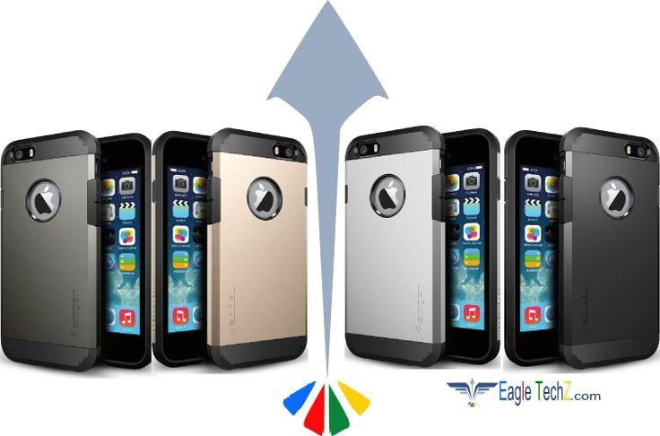 O sonho chegou!! O novo Iphone 6 ou Iphone Air já é uma realidade e tão Top quanto ele é a capa para Iphone 6 da Spigen, que como sempre possui as melhores e mais inovadoras capas para celulares e smartphones Acesse a Eagle Tech e descubra mais