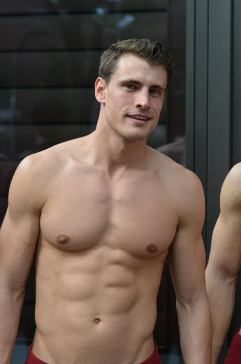 ? Model for an Abercrombie & Fitch Flagship store Opening ...
