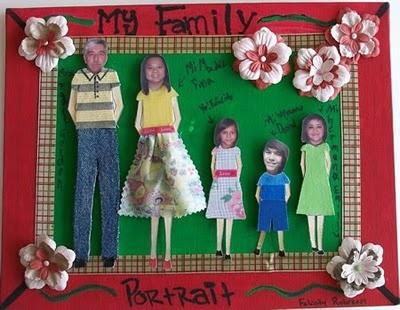 My Family Portrait Craft