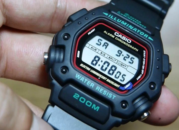 Review Casio Standard DW-290-1V