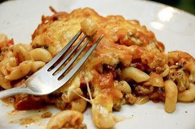 Macaroni à la viande crémeux gratiné | Doumdoum se régale