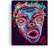 MAD-ness digital painting by mimulux patricia no - mpn Canvas Print