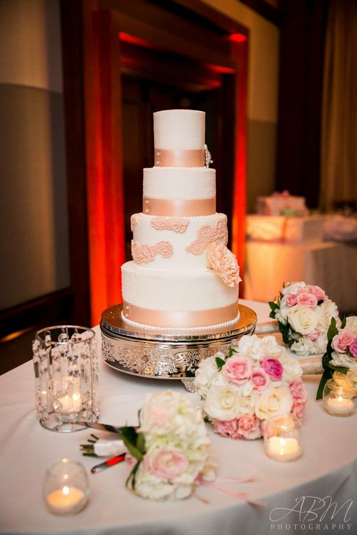persian wedding cake recipe blush and ivory lace inspired cake my wedding 18205
