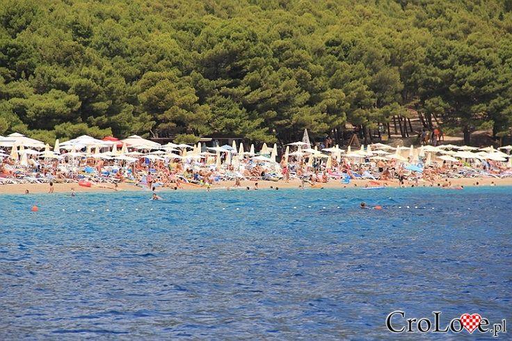 Plaża Zlatni Rat (Złoty Róg) w Bol    #Croatia #Chorwacja #Hrvatska #Island #CroatianIslands #Brac #Omis    http://crolove.pl/rejs-statkiem-wokol-wyspy-brac