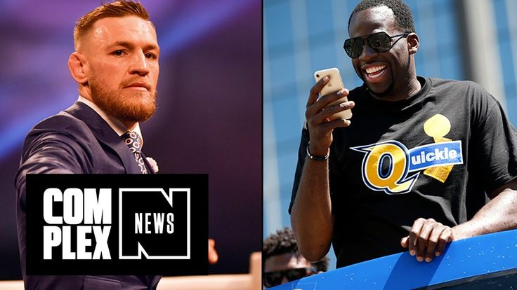 Draymond Green and Conor McGregor Trade Shots on IG - https://www.mixtapes.tv/videos/draymond-green-and-conor-mcgregor-trade-shots-on-ig/