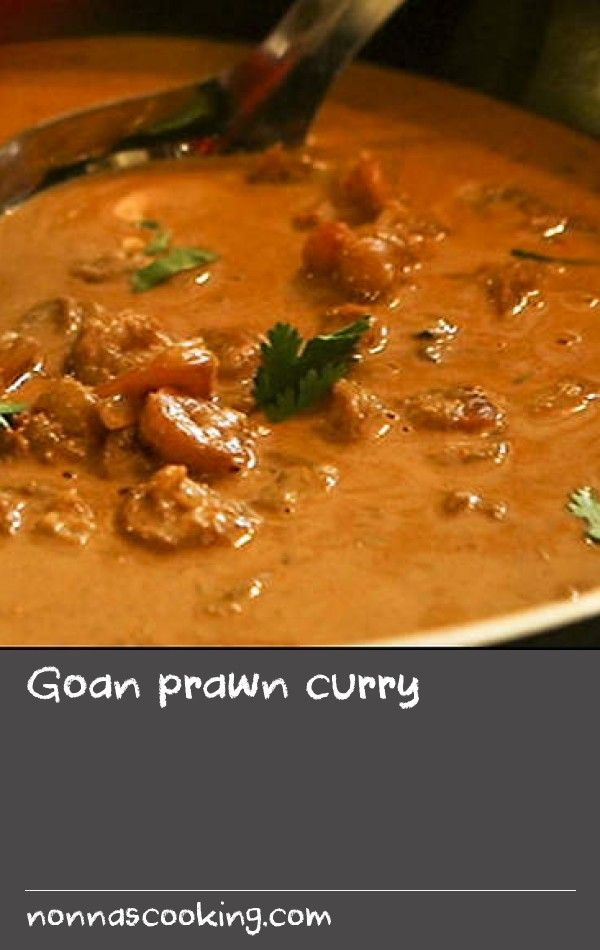 Goan prawn curry | Aileen is a Goan who came to London via Zimbabwe. When she wrote to her mother for recipes, this is the prawn curry she was sent. Serve it with plain rice and the mango salsa she has created while living in London.