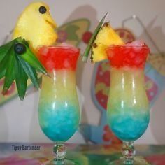 Bird of Paradise! For the recipe, visit us here: www.TipsyBartender.com Follow
