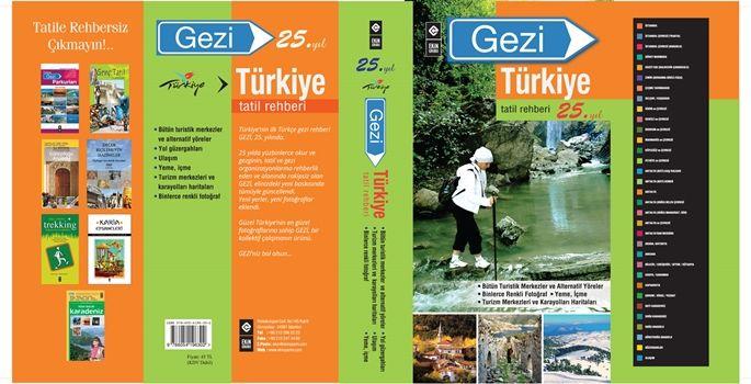 Türkiye'nin ilk Türkçe rehberi Gezi, 25 yaşında! haberi www.dunya.com'da