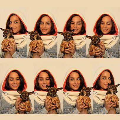 Cru Rouget Fashion Hooded scarf www.cachetoi-bcn.com
