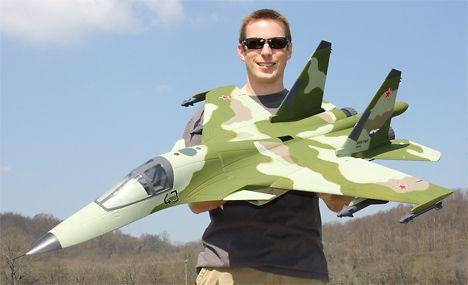 Hobby Lobby Su-34 Fullback Jet - Model Airplane News
