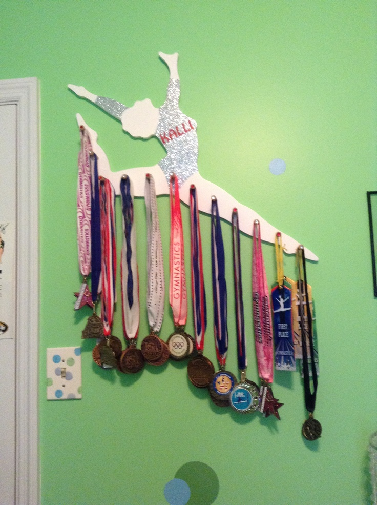 cool medal hanger!!!  Gymnastics