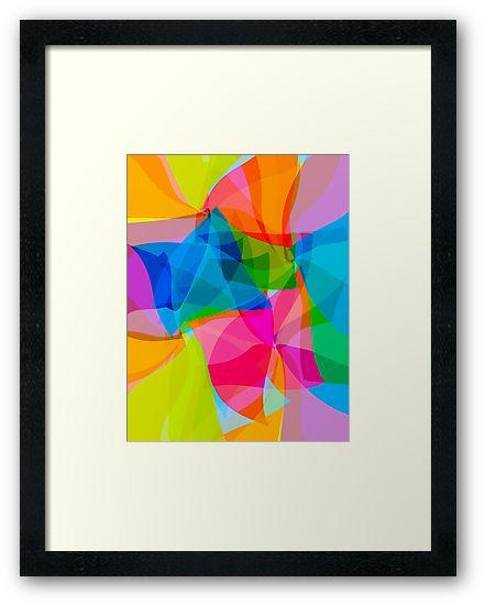 Paper Craft Tissues - Framed print