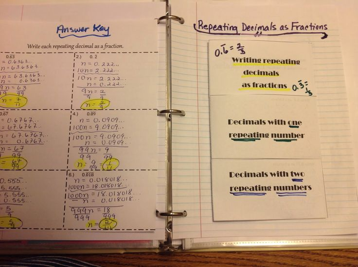 Repeating decimals as fractions and some other stuff too!