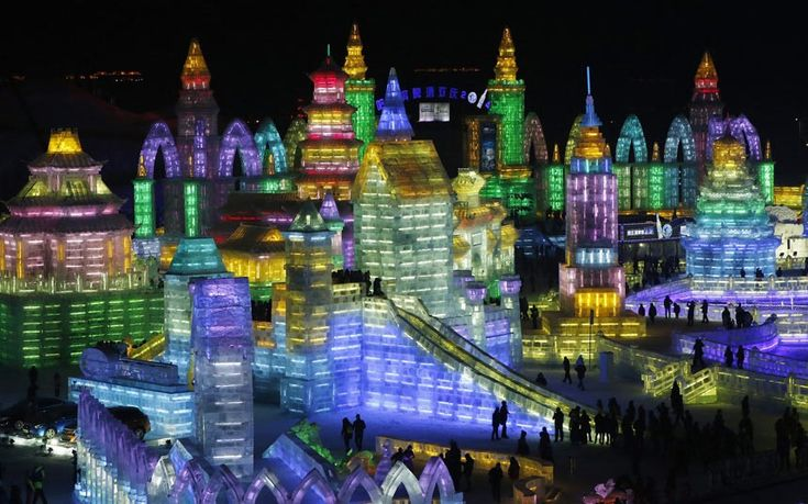 china ice sculpture festival | ... 2014 Harbin International Ice and Snow Festival in China - Telegraph