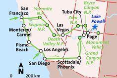 Der Südwesten intensiv ab Los Angeles Rundreise | usareisen.de - Die Amerika Profis