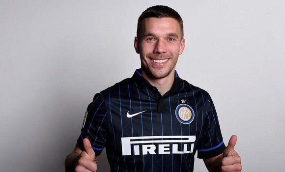 Lukas Podolski - Inter Milan on loan from Premier League club Arsenal