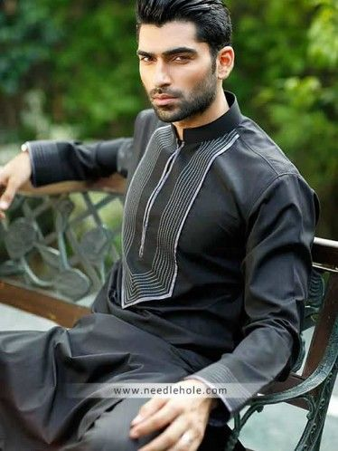 #Aijaz aslam menswear #kurta salwar suit in #cotton silk. Embroidered buttoned cuffs and embroidered front #kurta with matching shalwar in arsenic color  http://www.needlehole.com/aijaz-aslam-menswear-kurta-salwar-suit-in-cotton-silk-fabric.html Aijaz aslam #menswear kurta salwar suits and kameez shalwar. Latest pakistani #shalwar kameez designs and indian #kurta shalwar for men by aijaz aslam outlets in london