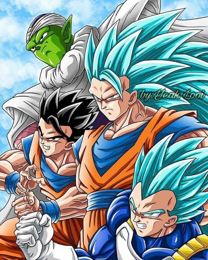 Best Team. Agree? Follow. @_officialdragonballsuper . Double Tap to Like. Comment Below. . Tag your Friends . . [Ignore Tags] #db #dbz #dbs #dragonballz #dragonballsuper #anime #manga #goku #Vegeta #gogeta #vegito #saiyan #gohan #krillin #trunks #battleofgods #funimation #ultrainstinct #broly #whis #beerus #hit #jiren #android18 #frieza #akiratoriyama #ssj4 #ssj3