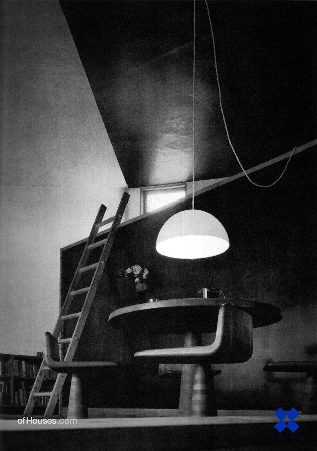 Kazuo Shinohara /// Earth House /// Nerima-ku, Tokyo, Japan /// 1966 - OfHouses by OfHouses