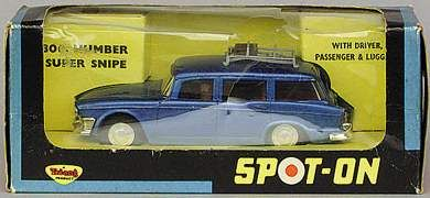 Spot On - Saloons and Sportscars Humber Super Snipe