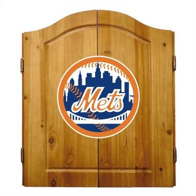 Imperial MLB Team Logo Complete Dart Cabinet Set & Reviews   Wayfair