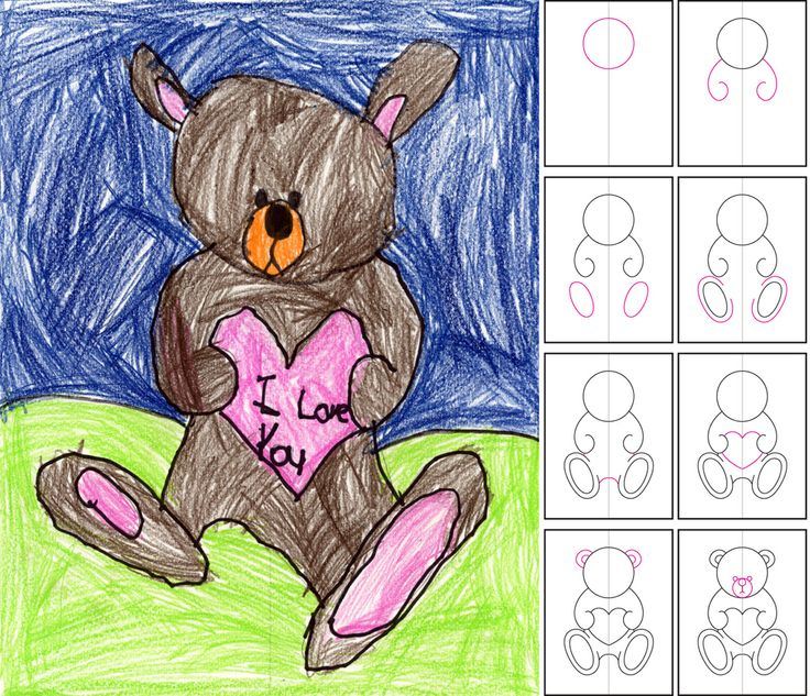 valentine day drawing. valentines-day coloring page - print, Ideas