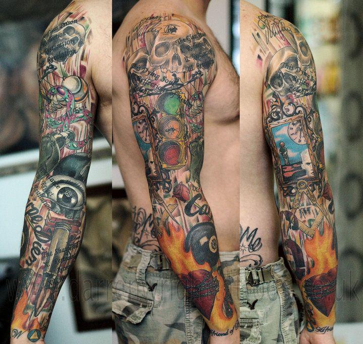 dream theater tattoo sleeve tattoo ideas pinterest