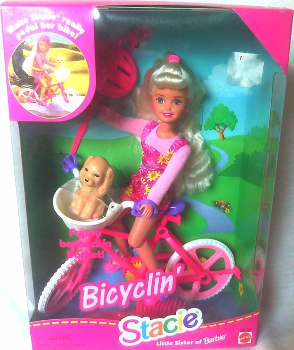 Image result for Bicyclin Whitney Friend Of Stacie Barbie Doll