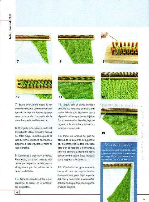 rectangular knitting loom instructions