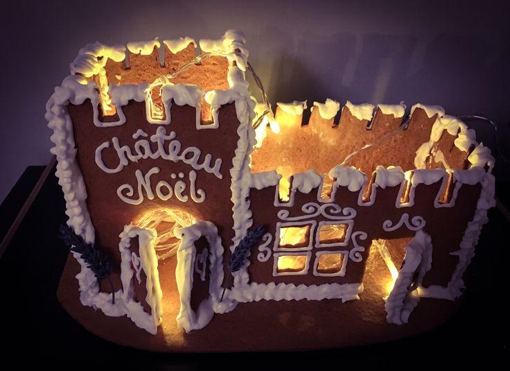 Marsa's gingerbread castle 2017