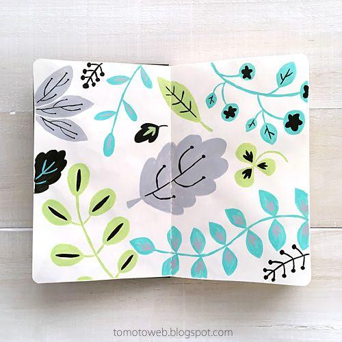 tomoto : Leaf sketches